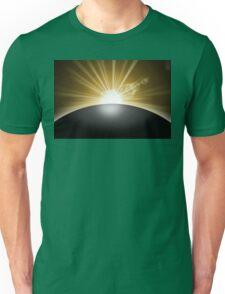 Sunrise Sunset Planet Unisex T-Shirt