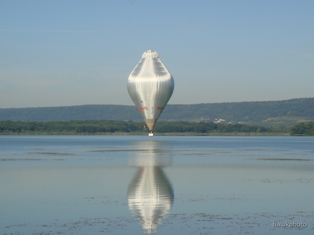 Bretling Balloon In Chambley,France  by hawkphoto