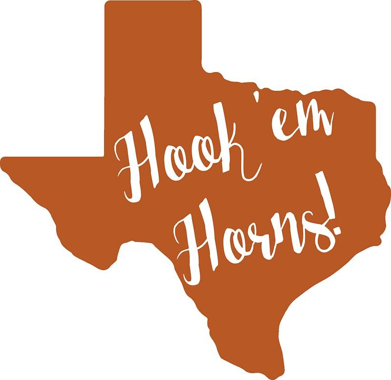 Hook em horns upside down