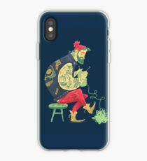dude knits iPhone Case