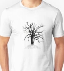 Gnarled Tree and Lightning Unisex T-Shirt