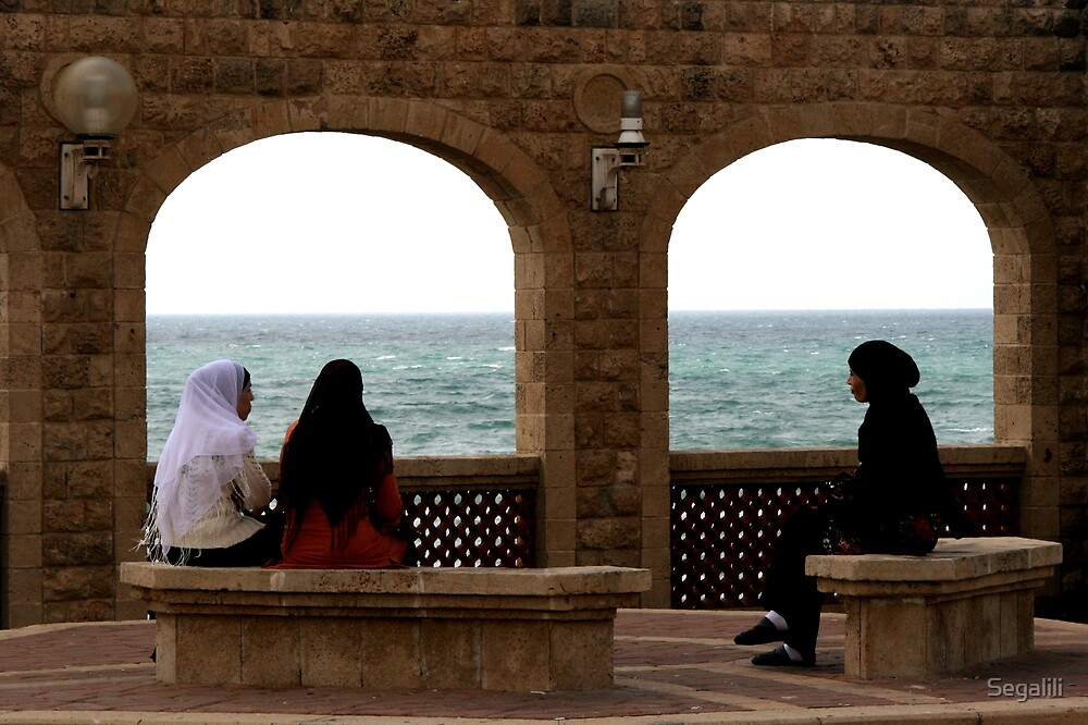 Three Arab Women by Segalili