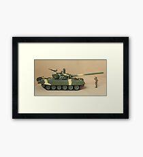 Commander formidable tank Framed Print