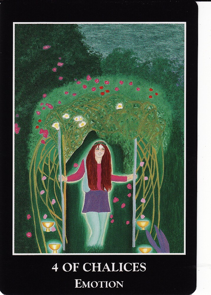 4 of Chalices - Emotion by Lisa Tenzin-Dolma
