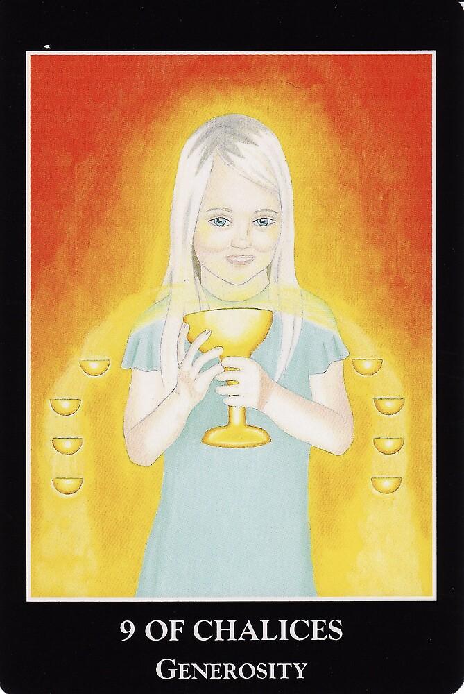 9 of Chalices - Generosity by Lisa Tenzin-Dolma