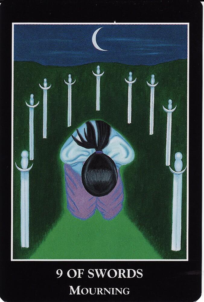 9 of Swords - Mourning by Lisa Tenzin-Dolma