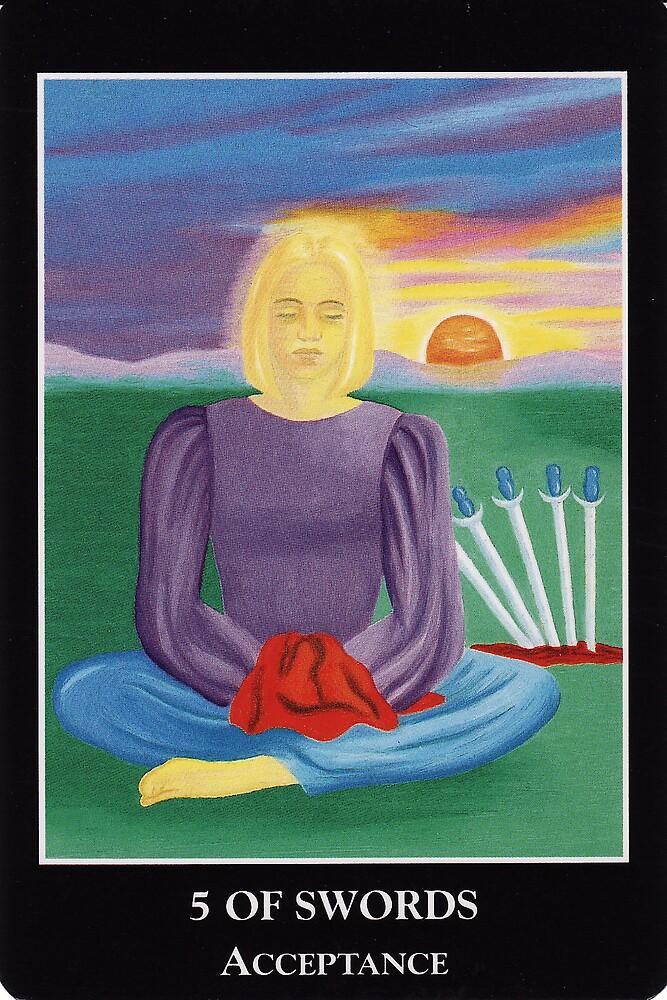 5 of Swords - Acceptance by Lisa Tenzin-Dolma
