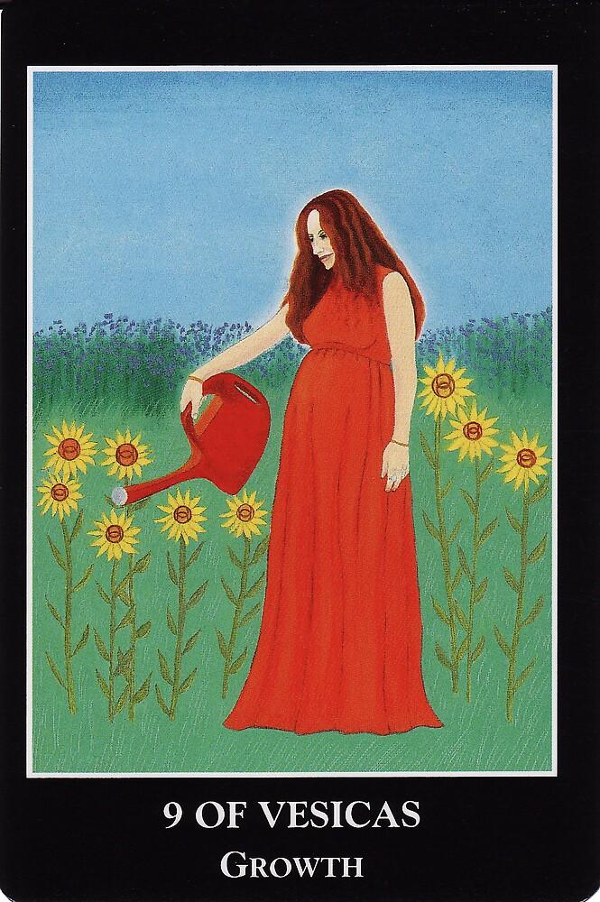 9 of Vesicas - Growth by Lisa Tenzin-Dolma