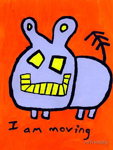 Walking Hippo by mrfriendly