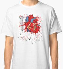 I LOVE HORROR  Classic T-Shirt