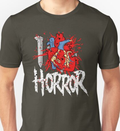 I LOVE HORROR  T-Shirt