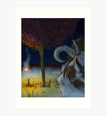 Night of The Dolyak Art Print