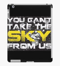 Take The Sky iPad Case/Skin