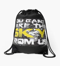 Take The Sky Drawstring Bag