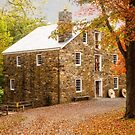 Cooper Grist Mill in Autumn by Debra Fedchin