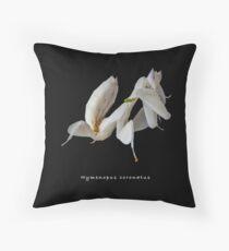 Orchid mantis (Hymenopus coronatus) Throw Pillow