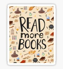 Read more books Sticker