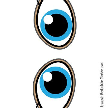 Magpie eyes Cute girl Blue by jasassin
