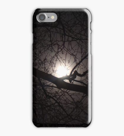 Winter Moon iPhone Case/Skin
