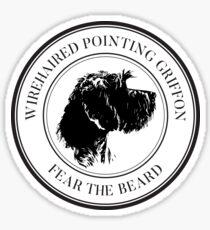 WPG FEAR THE BEARD Sticker