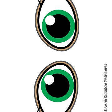 Magpie Eyes cute girl green by jasassin