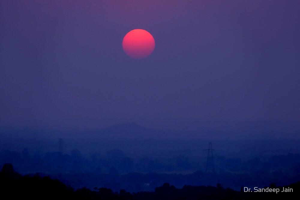 Serene sunset by Dr. Sandeep Jain