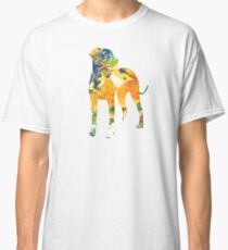 Watercolor Dog Classic T-Shirt
