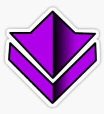 Commander Tag Purple Sticker