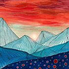 Lines in the mountains IV by Viviana Gonzalez
