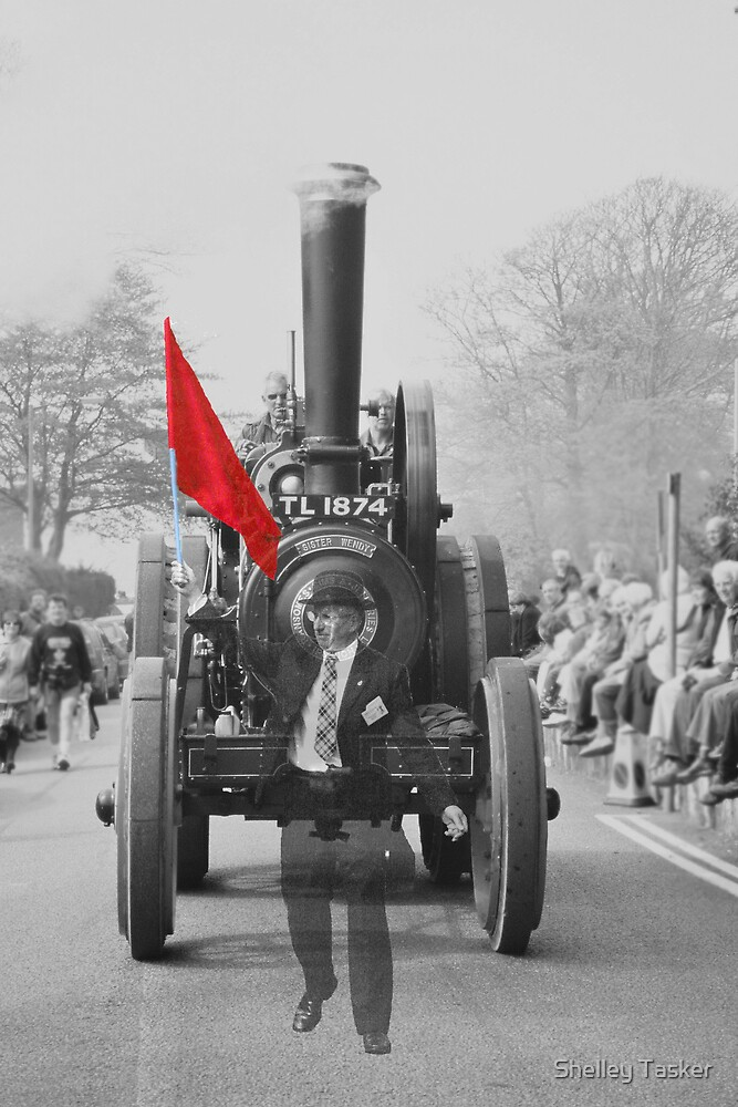 Ghost of Trevithick Day in Cornwall by Shelley Tasker