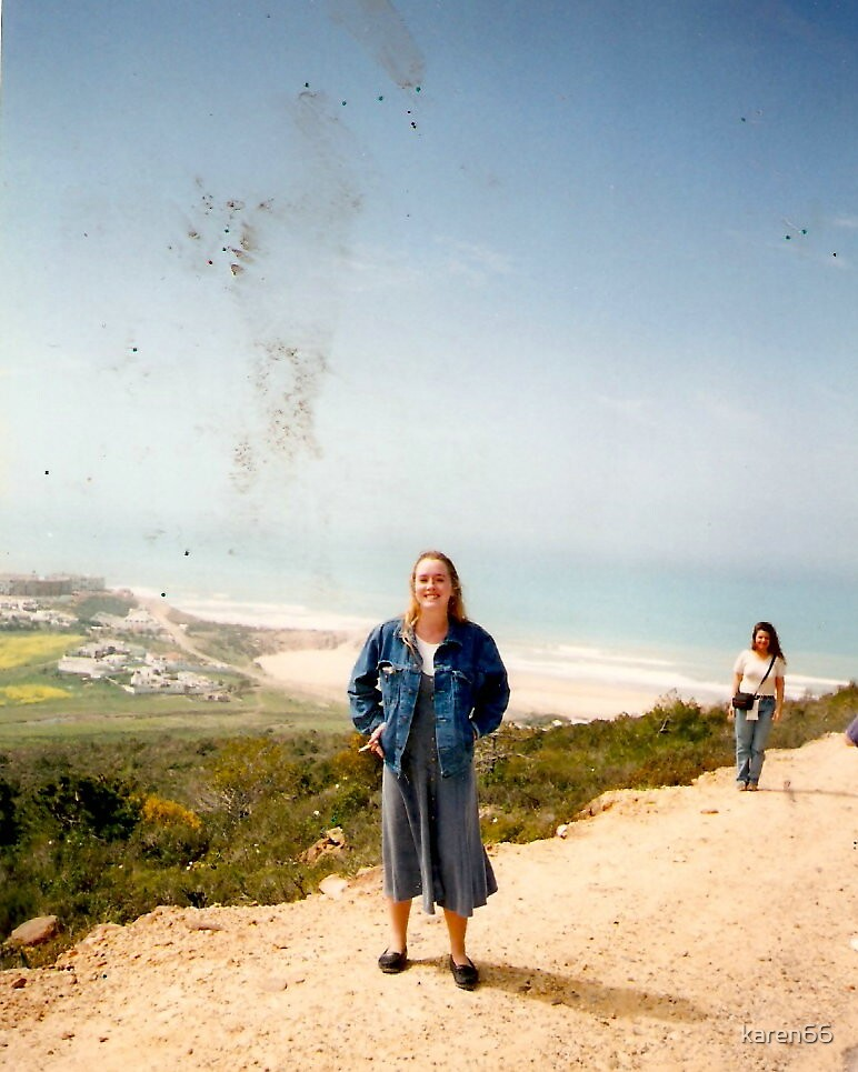 Me on a Mountain in Africa by karen66