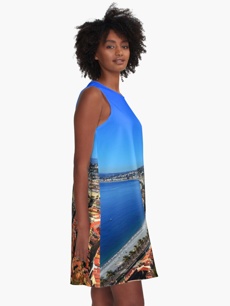 Alternate view of Nice France A-Line Dress