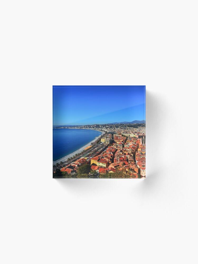Alternate view of Nice France Acrylic Block