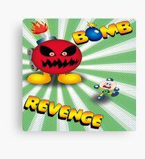 Bomb Revenge Canvas Print