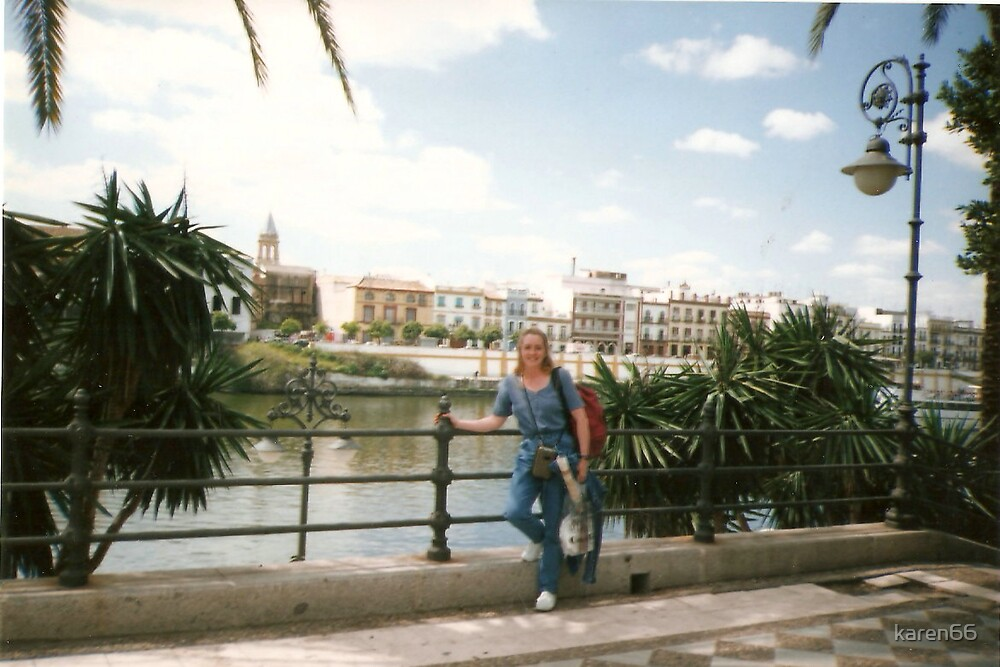 Karen by the River in Sevila Spain by karen66