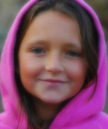 Girl In Pink Hoodie by bdb1961