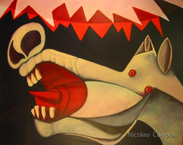 Fragment of Guernica 4 by Nicolau  Campos