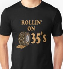 ROLLIN 35's Unisex T-Shirt
