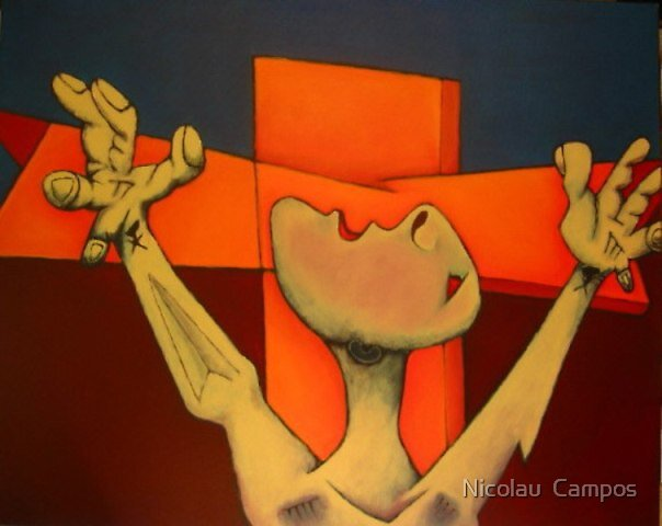 Crucifixion 1 by Nicolau  Campos