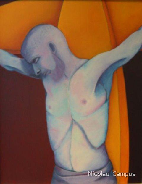 Crucifixion 3 by Nicolau  Campos