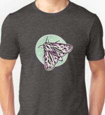 Watercolor Arge Tiger Moth (green) Unisex T-Shirt