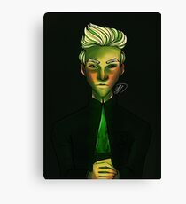 Slytherin Spear || HP Inspired Canvas Print