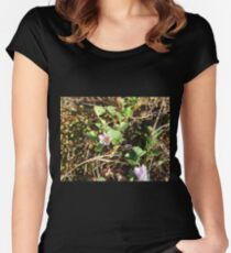 Dune flowers Women's Fitted Scoop T-Shirt