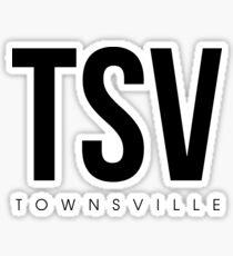 TSV - Townsville Airport Code Sticker