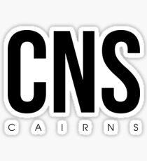 CNS - Cairns Airport Code Sticker
