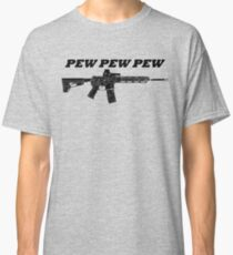 Pew Pew Pew T-shirt classique