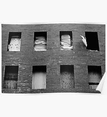 Brick Facade Poster
