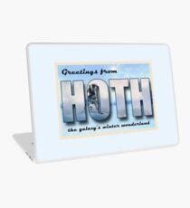 Hoth Postcard Laptop Skin