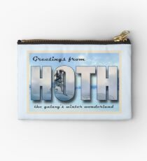 Hoth Postcard Studio Pouch