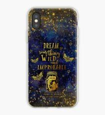Vinilo o funda para iPhone Dream Up Something Wild and Improbable